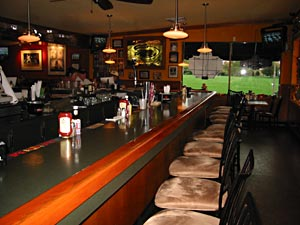 – Relax at the bar